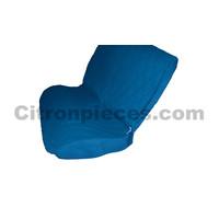 thumb-Housse d'origine pour banquette AR en étoffe bleu Charleston Citroën 2CV-2