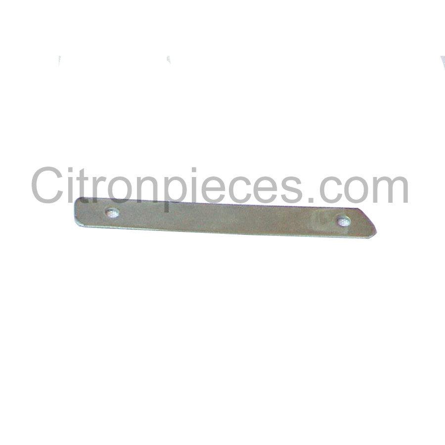 Metal plate (galv)for strip front fender Entr 61 AV Citroën ID/DS-1