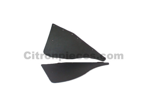ID/DS Mudflap of rear fender behind rear wheel (L 360) for old models Berline Citroën ID/DS