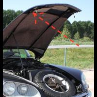 thumb-Caoutchouc pour sécuriser la barre du capot /2CV etc Caoutchouc fixation de vitre pour ancien modèle Citroën 2CV-7