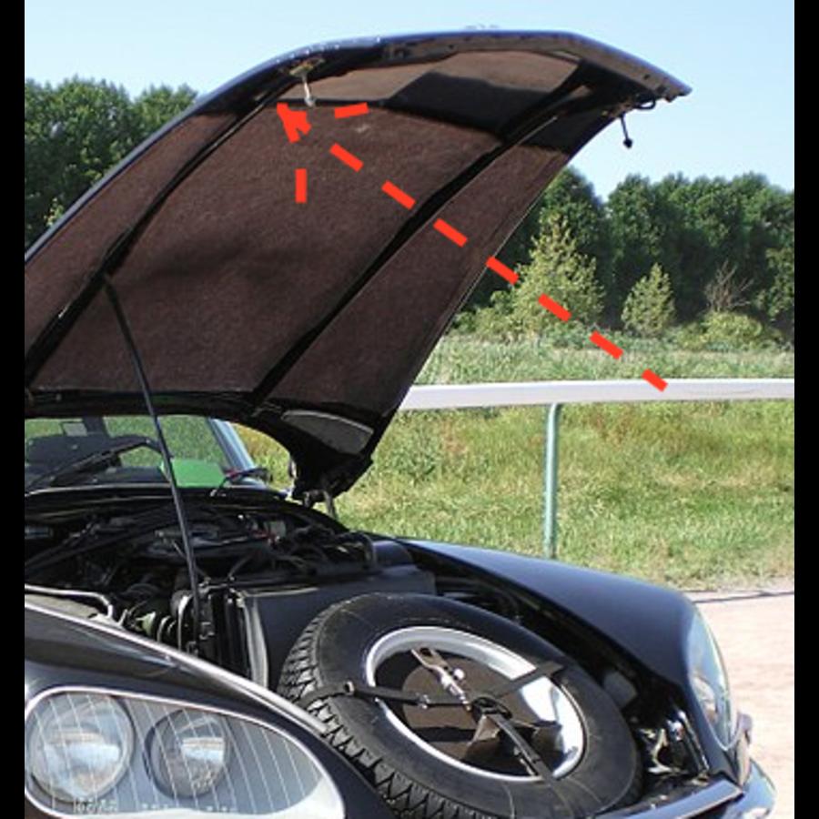 Caoutchouc pour sécuriser la barre du capot /2CV etc Caoutchouc fixation de vitre pour ancien modèle Citroën 2CV-7