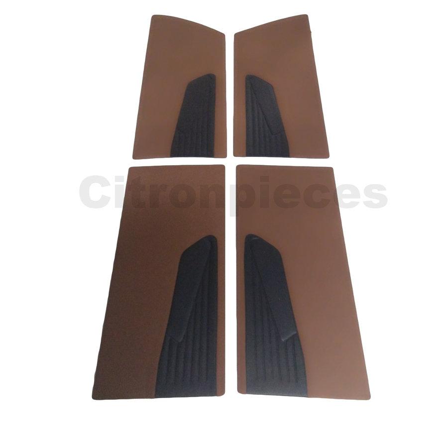 Set deurschotten caramel stof Citroën ID/DS-1