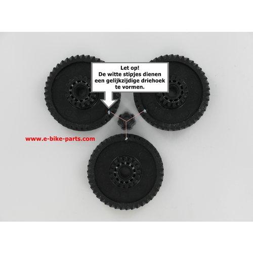 Giant Motor Reparatursatz Schwarz 26 und 36 Volt