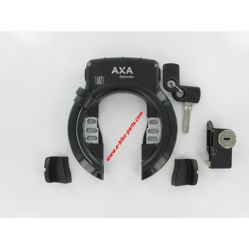Gazelle Schloss + Batterieschloss Shimano STEPS Axa Defender