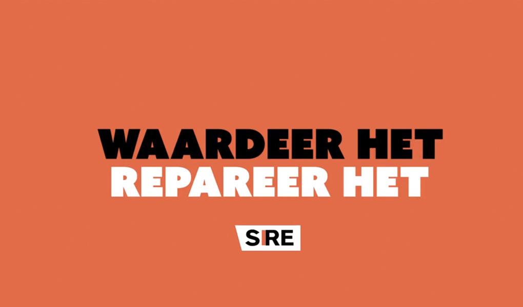 SIRE campagne - Waardeer het, Repareer het!