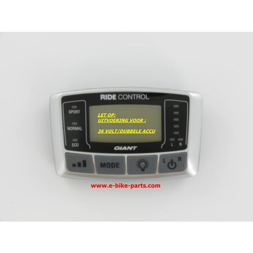 Giant Display Twist Double Power 36V (Dual Battery)