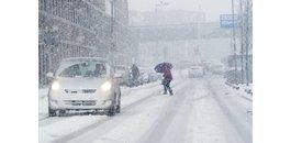 Verspätete Lieferung aufgrund des Winterwetters.
