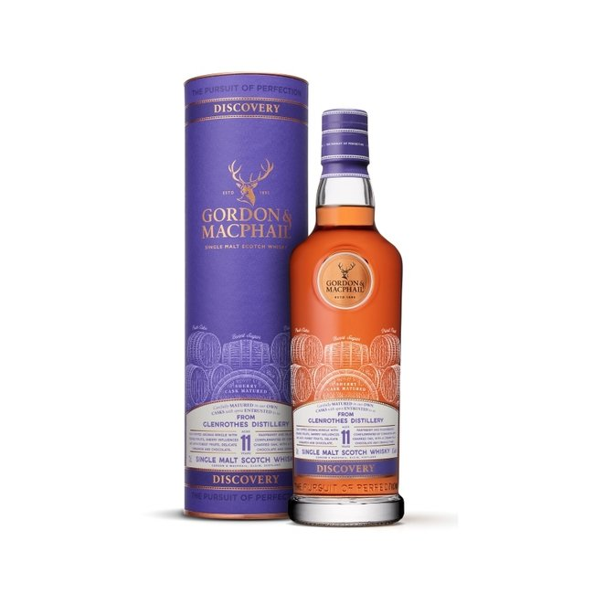 G & M GLENROTHES 11Y. DISCOVERY RANGE