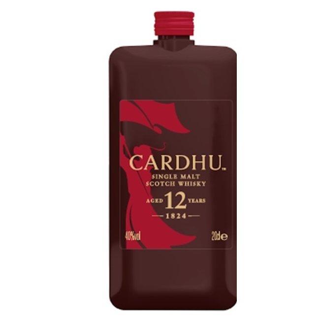 CARDHU 12Y. POCKET SCOTCH   020  40%