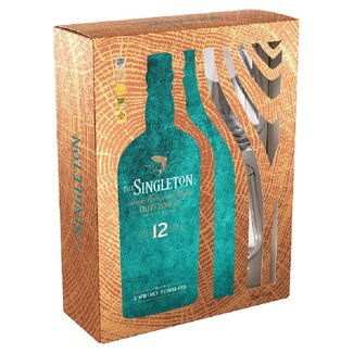 SINGLETON DUFFTOWN 12Y GIFTPACK WITH TWO TUMBLERS
