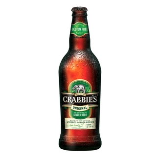 Crabbies GINGER BEER  DOOS/CASE 12 btlles  033  4%