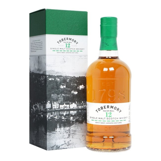 Tobermory 12Y.   new bottling