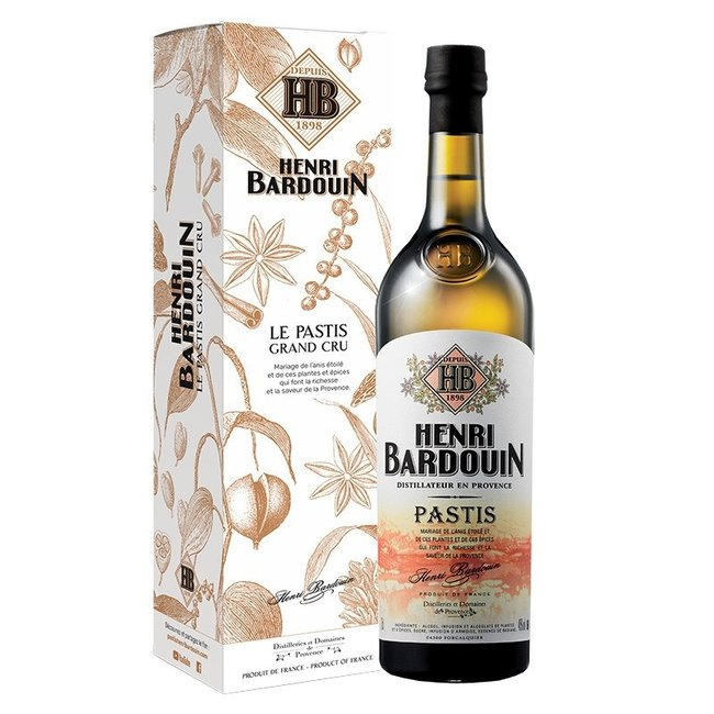 Henri Bardouin Best Pastis from the Provence