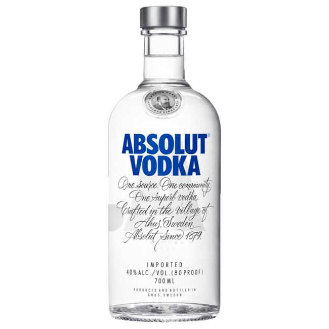 ABSOLUT VODKA BLAUW