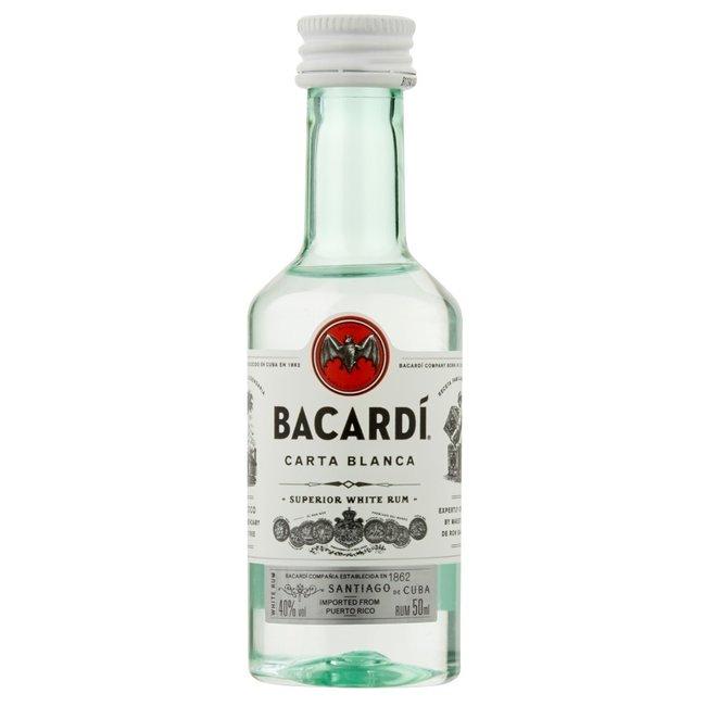 BACARDI CARTA BLANCA - 10 MINIS