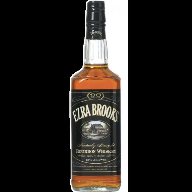 EZRA BROOKS BLACK