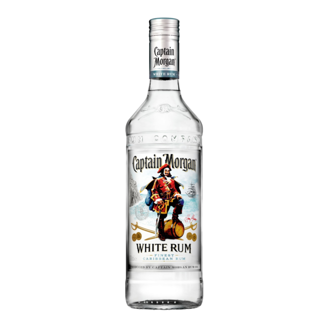 CAPTAIN MORGAN WHITE   LTR