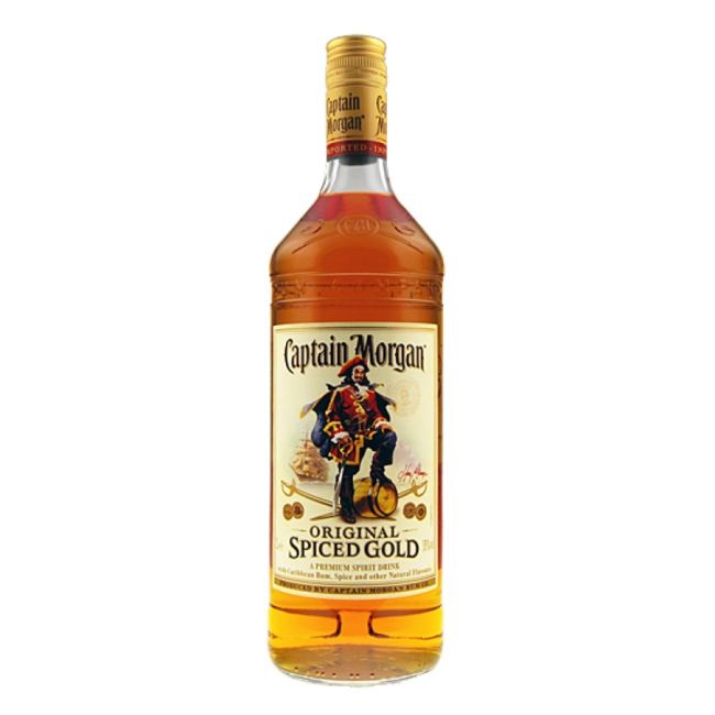 CAPTAIN MORGAN SPICED GOLD  LTR