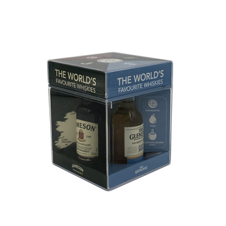 MINISET WORLD'S FAVOURITE WHISKIES