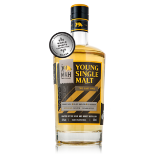 MILK AND HONEY YOUNG SINGLE MALT THE LAST ONE DOUBLE CASK