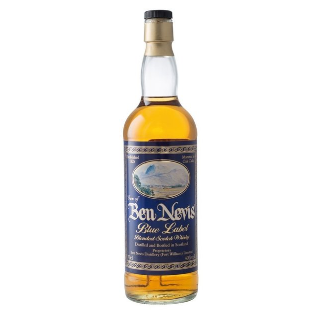 DEW OF BEN NEVIS BLUE LABEL