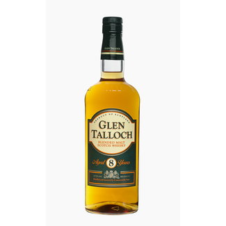 GLEN TALLOCH BLENDED MALT 8Y