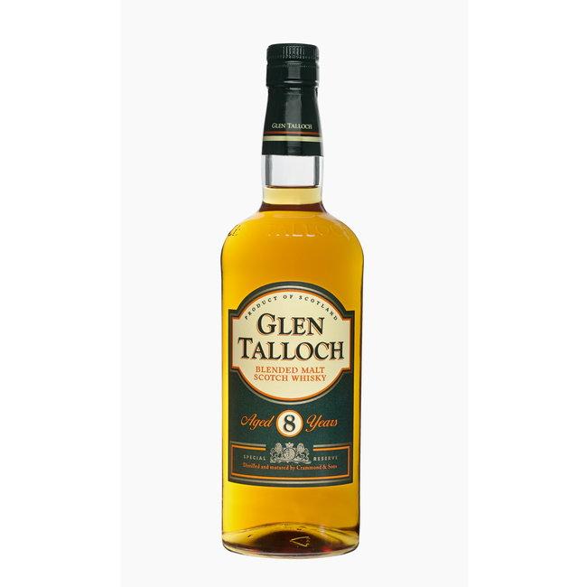 GLEN TALLOCH BLENDED MALT 8Y