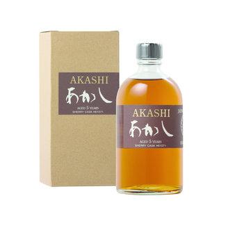 AKASHI SINGLE MALT 5Y. SHERRY CASK