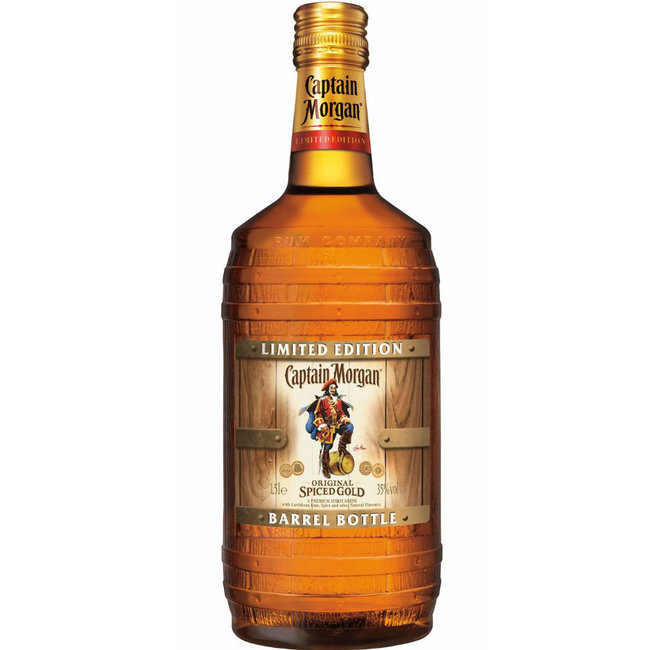 CAPTAIN MORGAN SPICED BARRELBOTLE