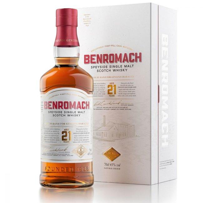 Benromach  BENROMACH 21Y.