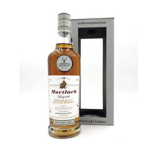 G & M MORTLACH 15Y DISTILLERY LABEL