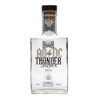 AC DC THUNDER STRUCK TEQUILA  SILVER
