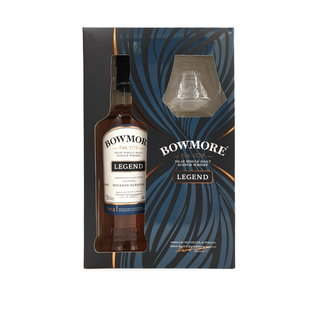 BOWMORE LEGEND GIFTPACK TWO GLASSES