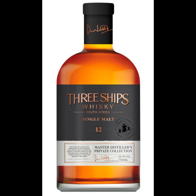 THREE SHIPS 12Y. SOUTH AFRICAN SINGLE MALT