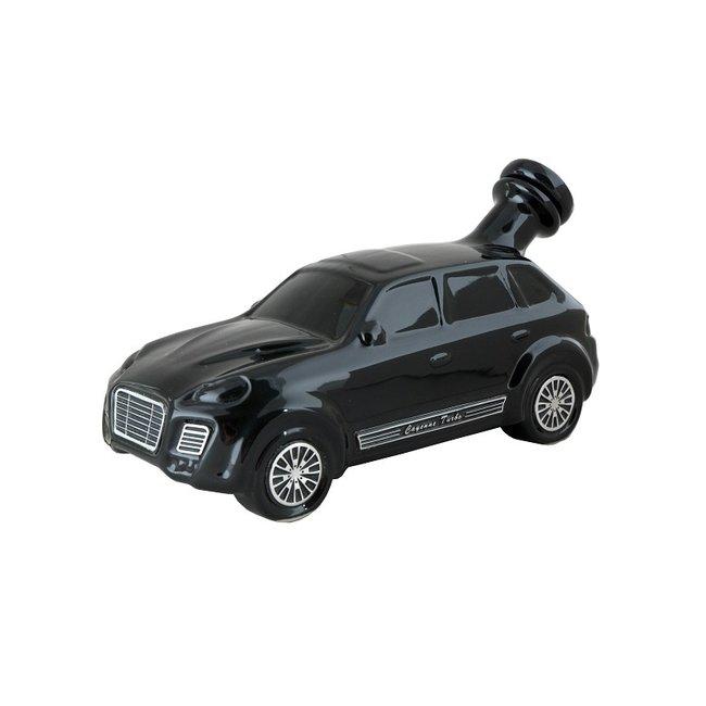 SPORTS CAR BLACK PORSCHE CAYENNE