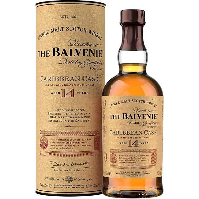 BALVENIE 14Y. CARIBBEAN CASK