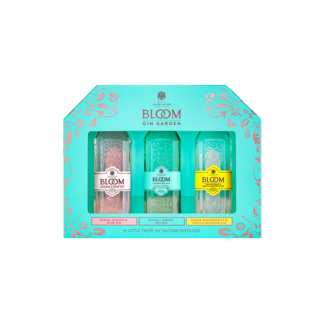 BLOOM GIN MINISET 3 x 50ml.