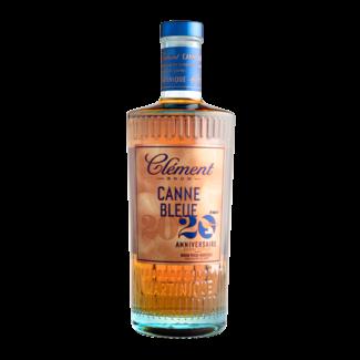 Clement  CANNE BLUE 2020 RHUM VIEUX 20IEME ANNIVERSAIRE