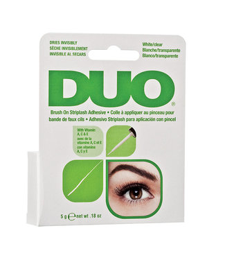 DUO DUO - Brush-On Lash Adhesive Wimperlijm - Clear