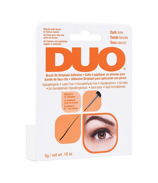 DUO DUO - Brush-On Lash Adhesive Wimperlijm - Dark