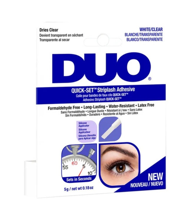 DUO DUO - Quick-Set Lash Adhesive Brush-On Wimperlijm - Clear