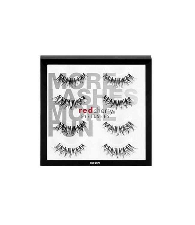 Red Cherry Eyelashes Red Cherry Eyelashes - Demi Wispy Multipack