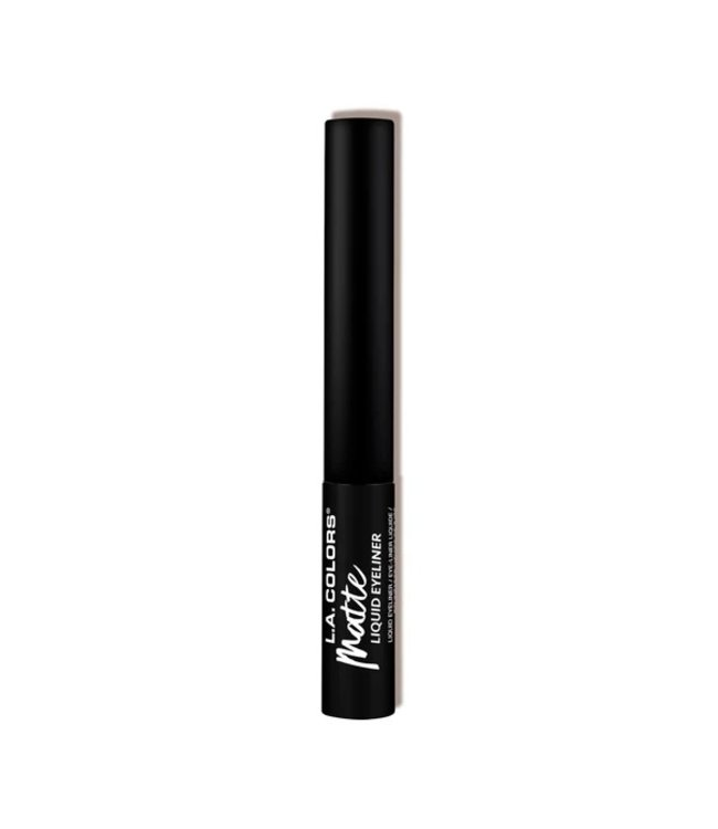 LA Colors LA Colors - Liquid Eyeliner Matte Black