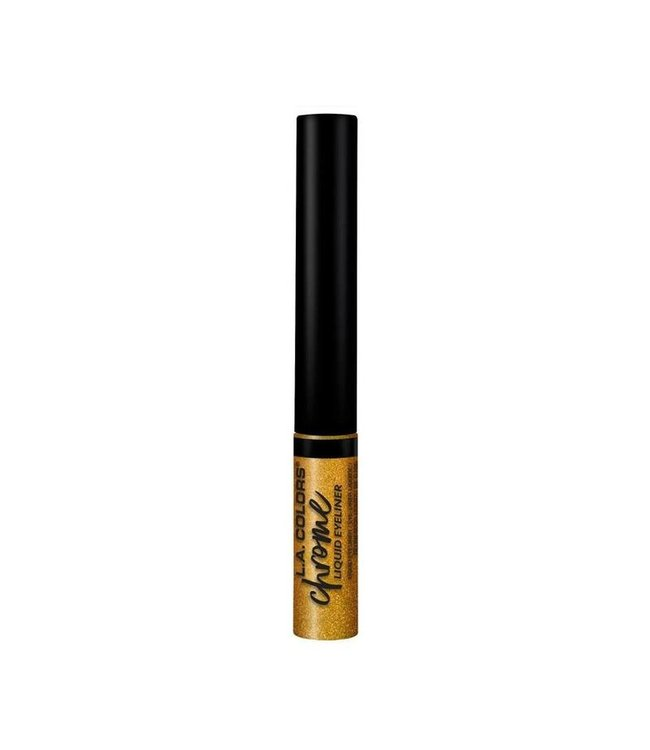 LA Colors LA Colors - Liquid Eyeliner Chrome Liquid Gold
