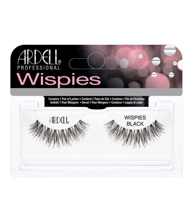 Ardell Ardell - Invisiband Lashes Wispies - Black