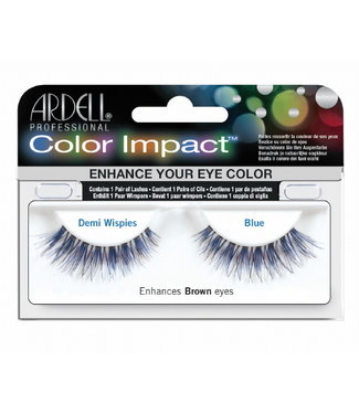 Ardell Ardell - Color Impact Lashes Demi Wispies - Blue