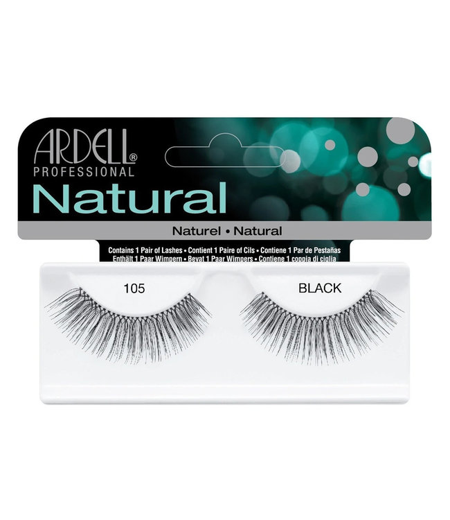 Ardell Ardell - Natural Lashes 105 - Black