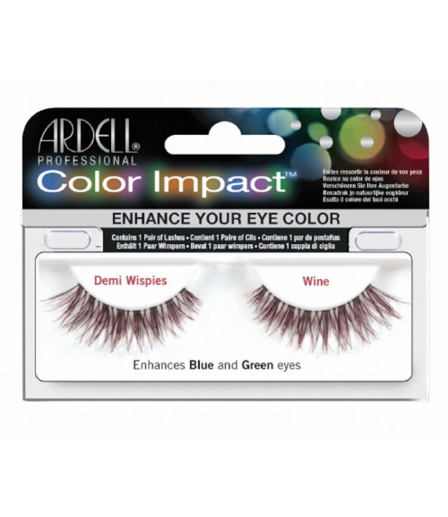 Ardell Ardell - Color Impact Lashes Demi Wispies - Wine