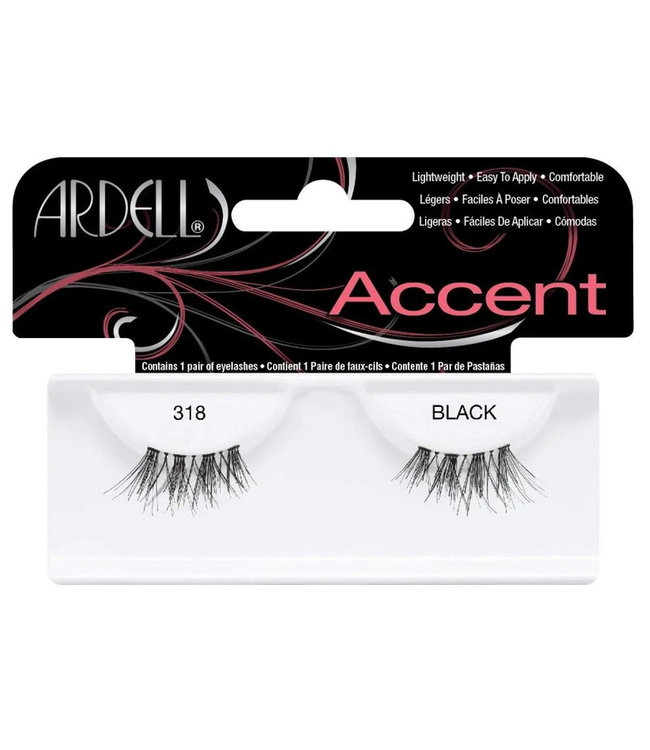 Ardell Ardell - Accent Lashes 318 - Black