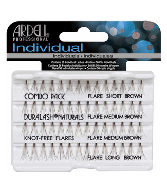 Ardell Ardell - Individual Lashes Combo - Brown